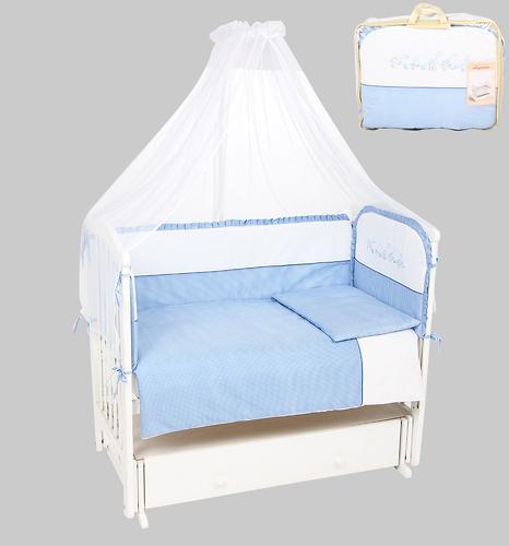 Комплект в кроватку Leader Kids Гусята 7 предметов голубой (1)