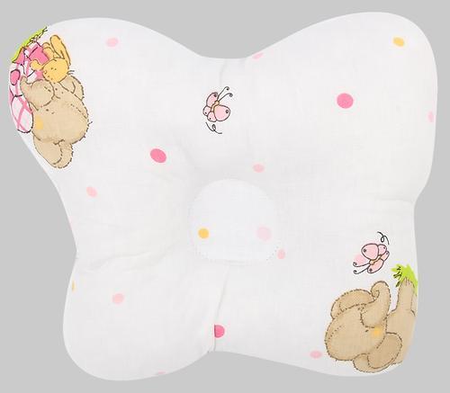Подушка Зайка моя анатомическая Мой слоник Розовая (1)