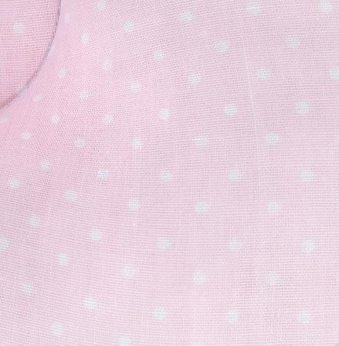 Подушка Leader Kids анатомическая Горох на розовом (6)