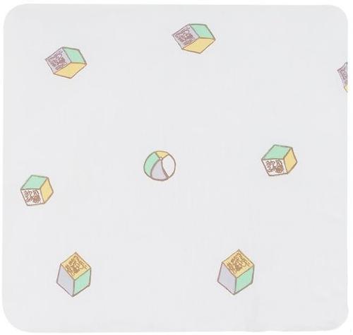 Подушка Leader Kids Мишкины игрушки 40х40 Сиреневая бязь (3)