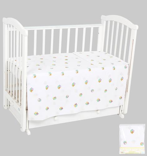 Комплект постельного белья в кроватку Leader Kids Игрушки Сиреневый (1)
