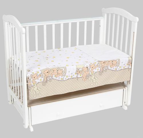 Комплект постельного белья Leader Kids 3 предмета Тихий час Молочный (3)