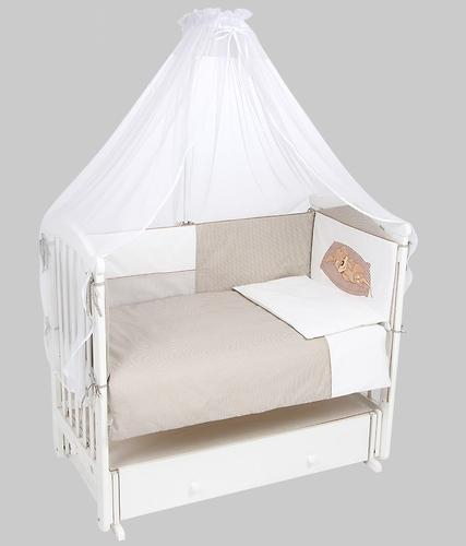 Комплект в кроватку Leader Kids 7 предметов Собачка Кофе (3)