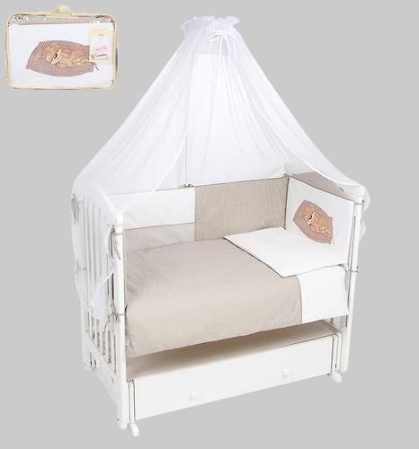 Комплект в кроватку Leader Kids 7 предметов Собачка Кофе (4)