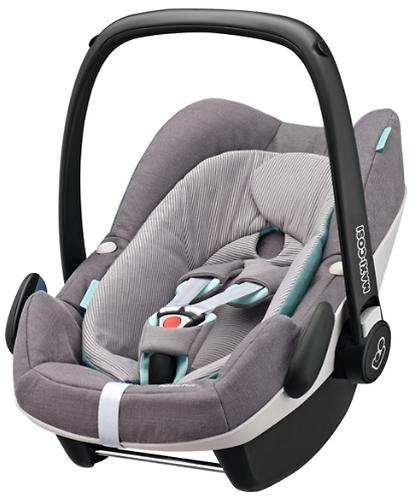 Автокресло Maxi Cosi Pebble+ Concrete Grey (4)