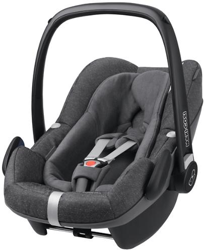 Автокресло Maxi Cosi Pebble+ Sparkling Grey (4)