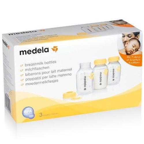 Контейнер для грудного молока MEDELA BREASTMILK 3*150ml (5)