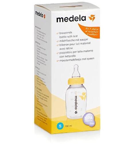 Бутылочка MEDELA BREASTMILK 150ml (5)
