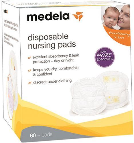 Прокладки Medela одноразовые для бюстгалтера 60 шт супервпитывающие (4)