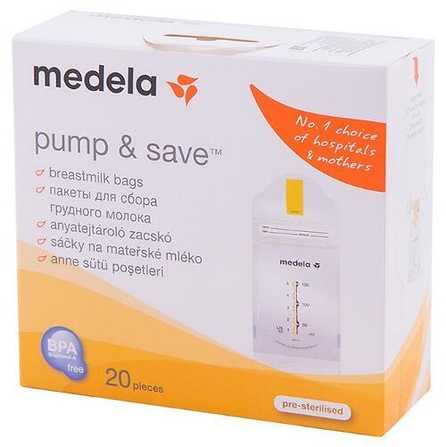 Пакеты для сбора и хранения молока MEDELA PUMP & SAVE 20 шт (7)