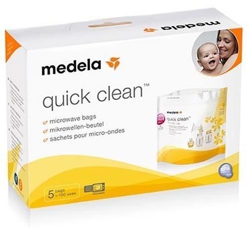 Пакеты для паровой стерилизации в микроволновке MEDELA QUICK CLEAN (5)