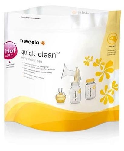Пакеты для паровой стерилизации в микроволновке MEDELA QUICK CLEAN (4)