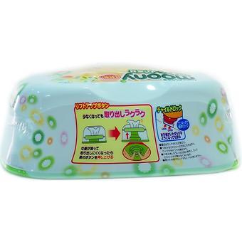 Салфетки Moony Box 80 шт в пластиковом боксе - Minim