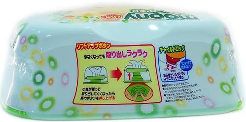 Салфетки Moony Box 80 шт в пластиковом боксе (4)