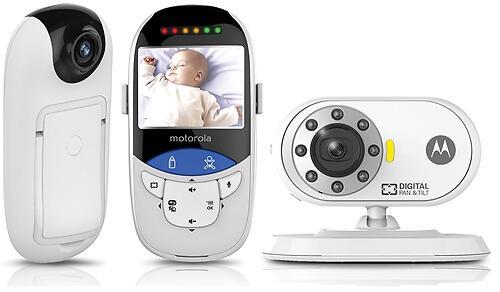 """Видеоняня Motorola MBP27T с диагональю экрана 2,4"""" c сенсорным термометром (9)"""
