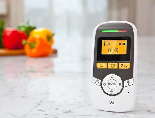 Радионяня Motorola MBP161 с монитором дыхания Timer and Binatone BabySense 5S (6)