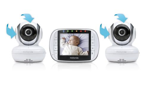 Видеоняняя Motorola MBP36S-2 цифровая беспроводная 2 камеры в комплекте (6)