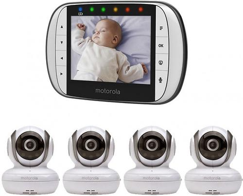 Видеоняняя Motorolaцифровая беспроводная MBP36S-4 4 камеры (4)