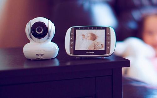 Видеоняняя Motorolaцифровая беспроводная MBP36S-4 4 камеры (6)