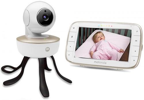 Видеоняня беспроводная Motorola MBP855 Connect с поддержкой Wifi (9)