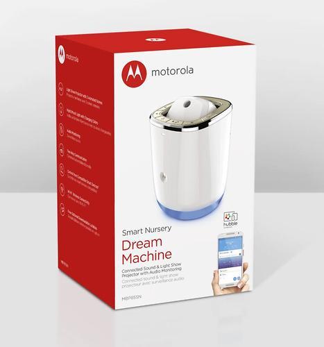 Радионяня Motorola MBP85SN с функцией проектора и проигрывателя (15)