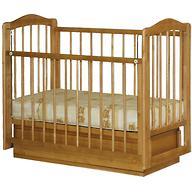 Кроватка Ксюша 1 ящик Бук