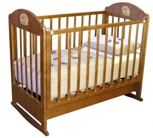 Кроватка Анюта орех (3)