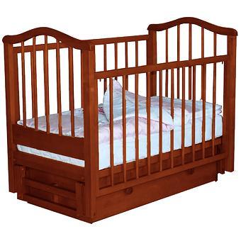 Кроватка Камелия Орех - Minim