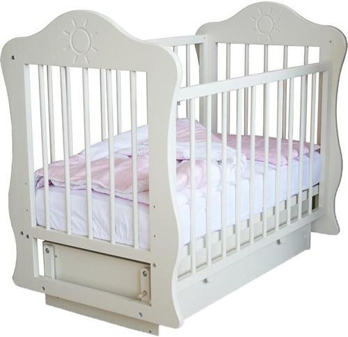 Кроватка Кира Белая (3)