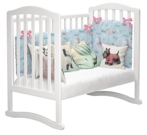 Кроватка Пикколо Белая (10)