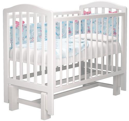 Кроватка Пикколо Белая (7)