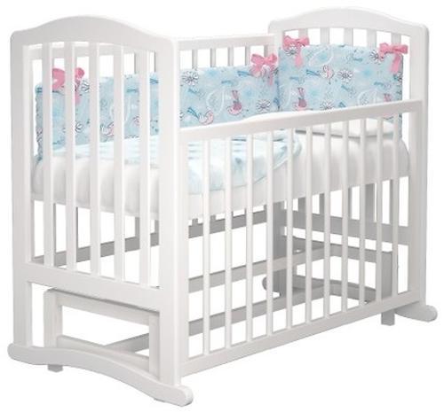 Кроватка Пикколо Белая (8)