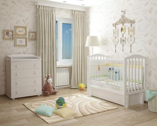 Кроватка Пикколо Белая (12)