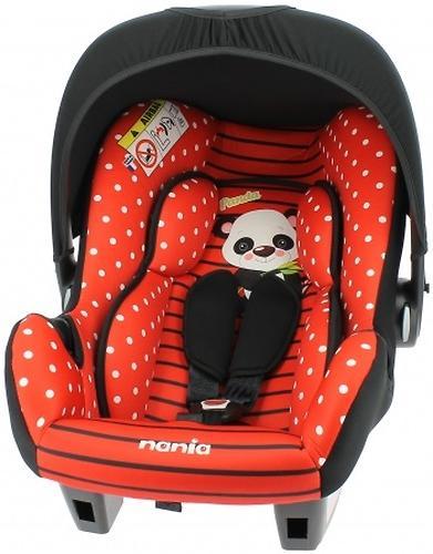 Люлька переноска Nania Be One SP Animals Panda Red (1)