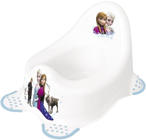 Горшок OKT Disney Холодное сердце белый (1)
