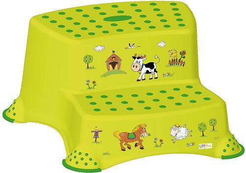 Подставка двойная OKT Disney Веселая ферма Зеленая (1)
