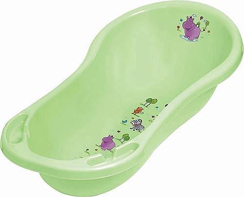 Ванночка OKT Бегемотик 84см зеленая (1)
