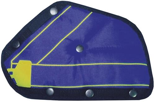 Адаптер ремня безопасности Zork для детей синий (3)