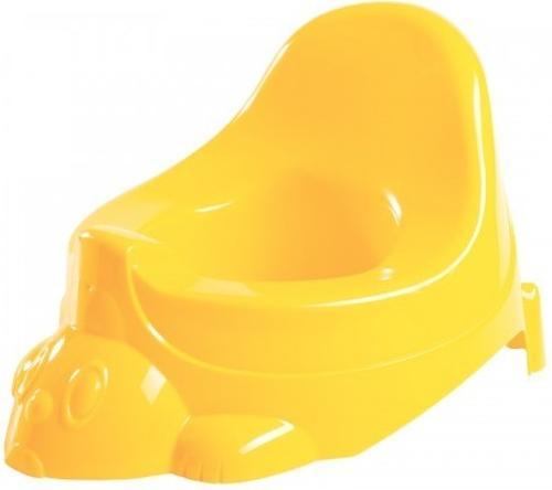 Горшок-игрушка Бытпласт желтый (1)