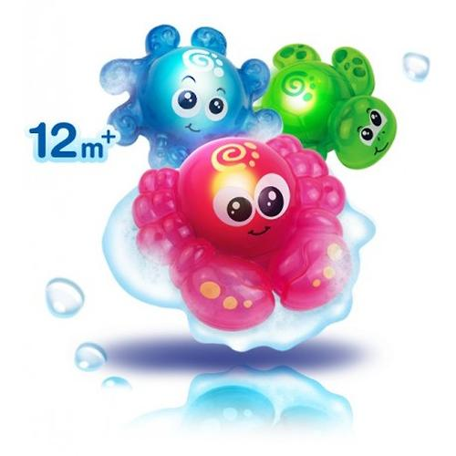 Игрушка для ванной Hap-p-kid со световыми эффектами Крабик (5)