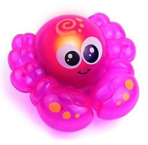 Игрушка для ванной Hap-p-kid со световыми эффектами Крабик (4)