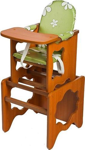 Стул-стол трансформер Премьер Ромашки зеленые (лдсп) (1)