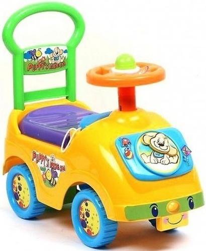 Каталка детская Kids Rider 1698 Желтая (1)