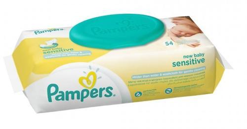 Салфетки Pampers New Baby Sensitive 54 шт (4)