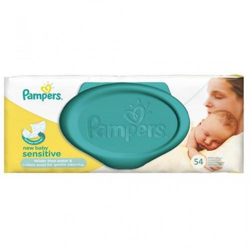 Салфетки Pampers New Baby Sensitive 54 шт (3)