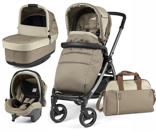 Коляска 3в1 Peg-Perego Book 51 S Titania Pop Up Modular Class Beige (8)
