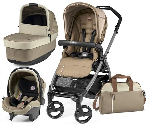 Коляска 3в1 Peg-Perego Book 51 Titania Pop Up Modular Class Beige (8)