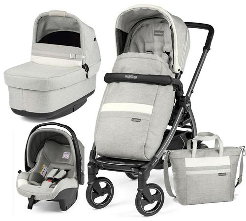 Коляска 3в1 Peg-Perego Book 51S Titania Pop Up Modular Lux Pure (9)
