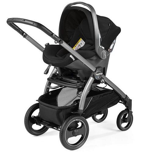 Коляска 3в1 Peg-Perego Book 51 S Titania Pop Up Modular Class Beige (14)