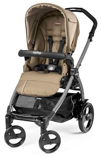 Коляска 3в1 Peg-Perego Book 51 Titania Pop Up Modular Class Beige (9)